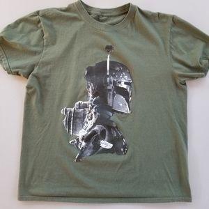 Star Wars Boba Fett Mens sz Large T Shirt s/s crew